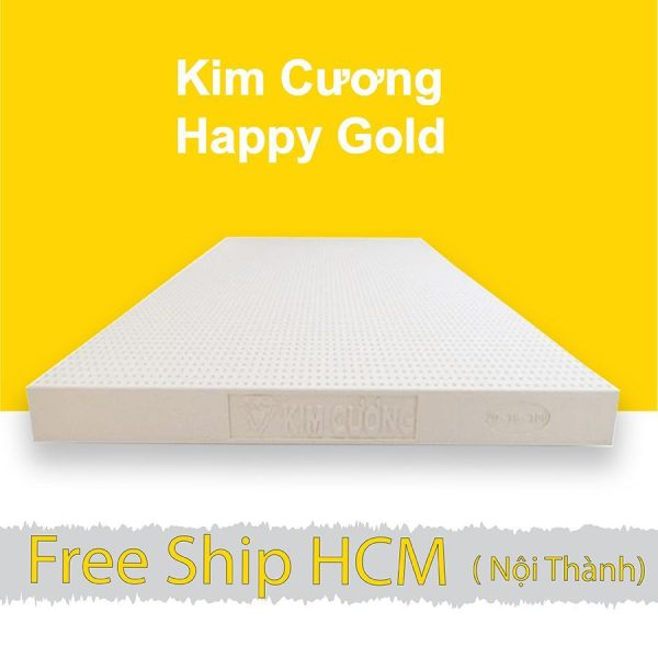 Nệm cao su Kim Cương Happy Gold khuyến mãi