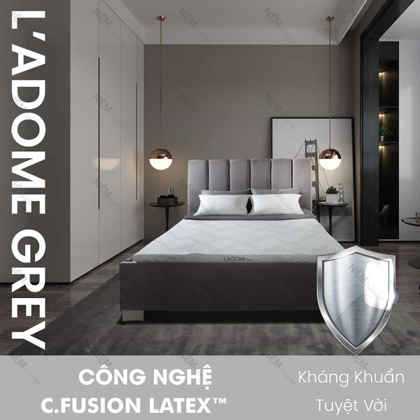 Thông tin nệm cao su Ladome Grey Liên Á